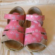 Sandale Melania nr. 20 - Sandale copii Melania, Fete, Roz, Piele naturala