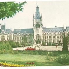 Carte postala-IASI-Palatul culturii - Carte postala tematica, Necirculata, Printata, Europa