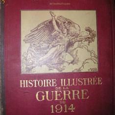 Gabriel Hanotaux - Histoire ilustree de la Guerre de 1914 - vol. VIII - 1918 ( Istoria ilustrata a Razboiului) - Carte in franceza