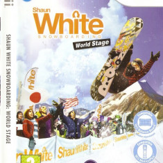 JOC WII SHAUN WHITE SNOWBOARDING WORLD STAGE ORIGINAL PAL in STOC REAL - Jocuri WII Ubisoft, Sporturi, 3+, Multiplayer