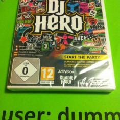 DJ HERO Consola Wii Sigilat - Jocuri WII, Simulatoare, 12+