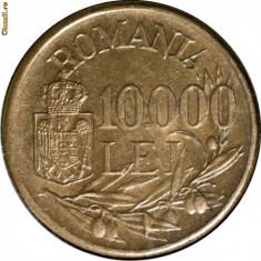 10000 lei 1947 - Luciu de batere - Moneda Romania