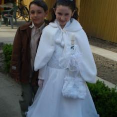 Rochii pentru mireasa mica, fetite 10-12 ani - Rochie de mireasa printesa