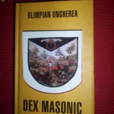 Dex masonic/vol.1-Olimpian Ungherea - Carte masonerie