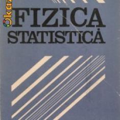 FIZICA STATISTICA - L.D.LANDAU, E.M.LIFSIT - Carte Fizica
