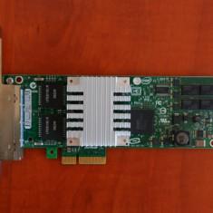 Placa de retea Intel Pro/1000 PT Quad-Port Server Adapter