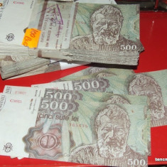 500 LEI 1991 - Bancnota romaneasca