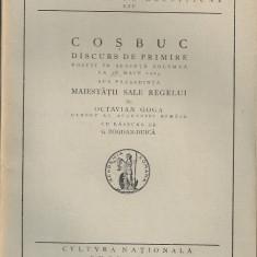Octavian Goga - Cosbuc - 1923