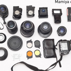 Mamiya 645 ProTL + 6 obiective + accesorii - Aparat Foto cu Film Mamiya, SLR, Mediu