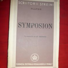 Platon - Symposion - ed.1944 ,trad.St.Bezdechi