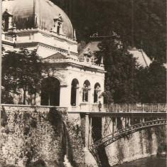 CPI (B620) BAILE HERCULANE, POD PESTE CERNA, EDITURA CPCS, CIRCULATA, 1959, STAMPILE, TIMBRU FILATELIC - Carte Postala Banat dupa 1918, Fotografie