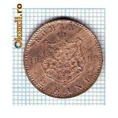13 Moneda 2 Bani 1900 B -starea care se vede -ceva mai buna decat scanarea - Moneda Romania