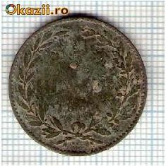 08 Moneda 5 Bani 1867 WATT & Co -starea care se vede -ceva mai buna decat scanarea - Moneda Romania