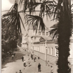 CPI (B612) BAILE HERCULANE, VEDERE DIN BAILE HERCULANE, EDITURA MERIDIANE, CPCS, CIRCULATA, 1969, STAMPILE, TIMBRU, Fotografie