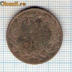 10 Moneda 5 Bani 1867 WATT & Co ? -starea care se vede -ceva mai buna decat scanarea - Moneda Romania