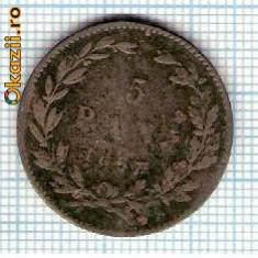 15 Moneda 5 Bani 1867 HEATON ? -starea care se vede -ceva mai buna decat scanarea - Moneda Romania