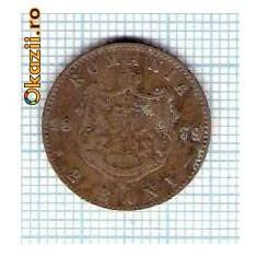 21 Moneda 2 Bani 1879 B -starea care se vede -ceva mai buna decat scanarea - Moneda Romania