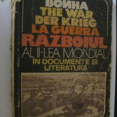 ALMANAH REVISTA STEAUA:RAZBOIUL AL II-LEA  MONDIAL IN DOCUMENTE SI LITERATURA