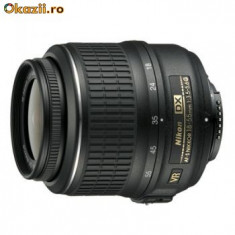 Doua obiective noi Nikon - Obiectiv DSLR Nikon, Standard, Autofocus, Nikon FX/DX, Stabilizare de imagine