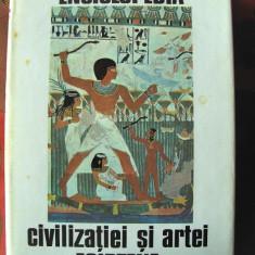 ENCICLOPEDIA CIVILIZATIEI SI ARTEI EGIPTENE, Georges Posener s. a. 1974. Noua - Enciclopedie