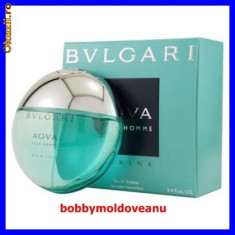 PARFUM BARBAT BULGARI AQUA MARINE 100ML - Parfum barbati Bvlgari, Apa de toaleta