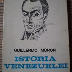 Istoria Venezuelei guillermo moron carte istorie stiinta ilustrata