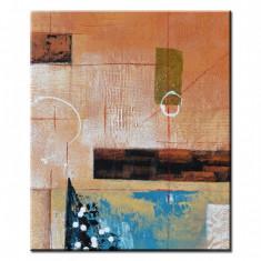 Tablou Abstract 24 - ulei/panza intinsa pe sasiu 60x50cm