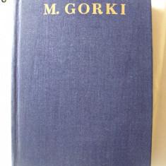 OPERE Vol. IX - NUVELE 1909 - 1912, M. Gorki, 1958. Ed. CARTEA RUSA. Carte noua - Carte de lux