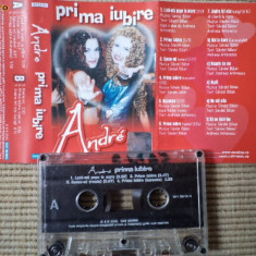 andre prima iubire album caseta audio muzica pop dance europop cat music 2000