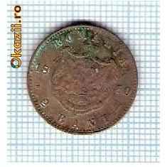 40 Moneda 2 Bani 1880 B -starea care se vede -ceva mai buna decat scanarea - Moneda Romania