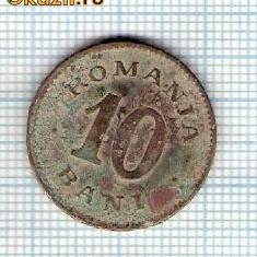 44 Moneda 10 BANI 1900 -starea care se vede -ceva mai buna decat scanarea - Moneda Romania
