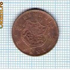 41 Moneda 2 Bani 1900 B -starea care se vede -ceva mai buna decat scanarea - Moneda Romania