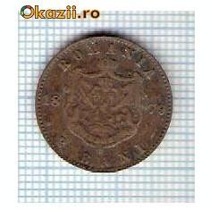 36 Moneda 2 Bani 1879 B -starea care se vede -ceva mai buna decat scanarea - Moneda Romania