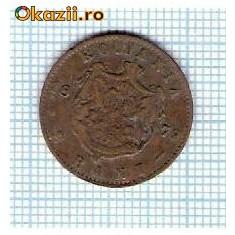 35 Moneda 2 Bani 1879 B -starea care se vede -ceva mai buna decat scanarea - Moneda Romania