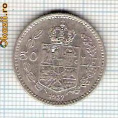 60 Moneda 50 LEI 1937 -starea care se vede -ceva mai buna decat scanarea - Moneda Romania