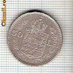 61 Moneda 50 LEI 1937 -starea care se vede -ceva mai buna decat scanarea - Moneda Romania
