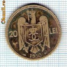 86 Moneda  20 LEI 1930 -starea care se vede -ceva mai buna decat scanarea