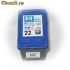 2 BUCATI HP 22 COLOR NOU - Cartus imprimanta