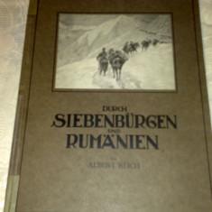 Durch Siebenburgen und Rumanien - Albert Reich - - Istorie