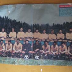 AFIS CU NATIONALA ROMANIEI DE LA C.M. MEXIC 1970