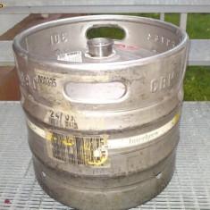 BUTOI de BERE din INOX ALIMENTAR de 30 L