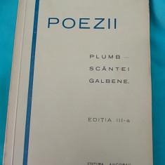 GH.BACOVIA-PLUMB/SCANTEI GALBENE,ED.III-A,1929