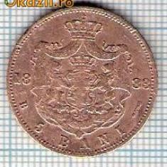110 Moneda 5 BANI 1883 B -starea care se vede -ceva mai buna decat scanarea - Moneda Romania