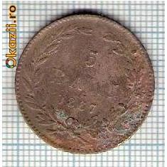 109 Moneda 5 BANI 1867 HEATON -starea care se vede -ceva mai buna decat scanarea - Moneda Romania