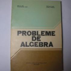 Probleme de algebra Ion.D Ion, Nicolae Radu, p1, P12 - Carte Matematica, Trei