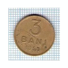 143 Moneda 3 BANI 1953 -starea care se vede -ceva mai buna decat scanarea - Moneda Romania