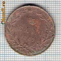 111 Moneda 5 BANI 1867 WATT & Co -starea care se vede -ceva mai buna decat scanarea - Moneda Romania