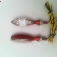 Semnale / semnal / semnalizari moto scuter LED ( rosu ) - Semnalizare Moto