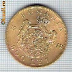 167 Moneda 500 LEI 1945 -starea care se vede -ceva mai buna decat scanarea - Moneda Romania