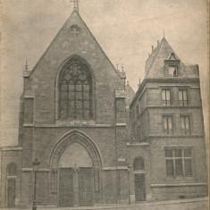 Veniamin Pocitan - L'eglise Orthodoxe Roumaine de Paris - 1937 - Carte veche